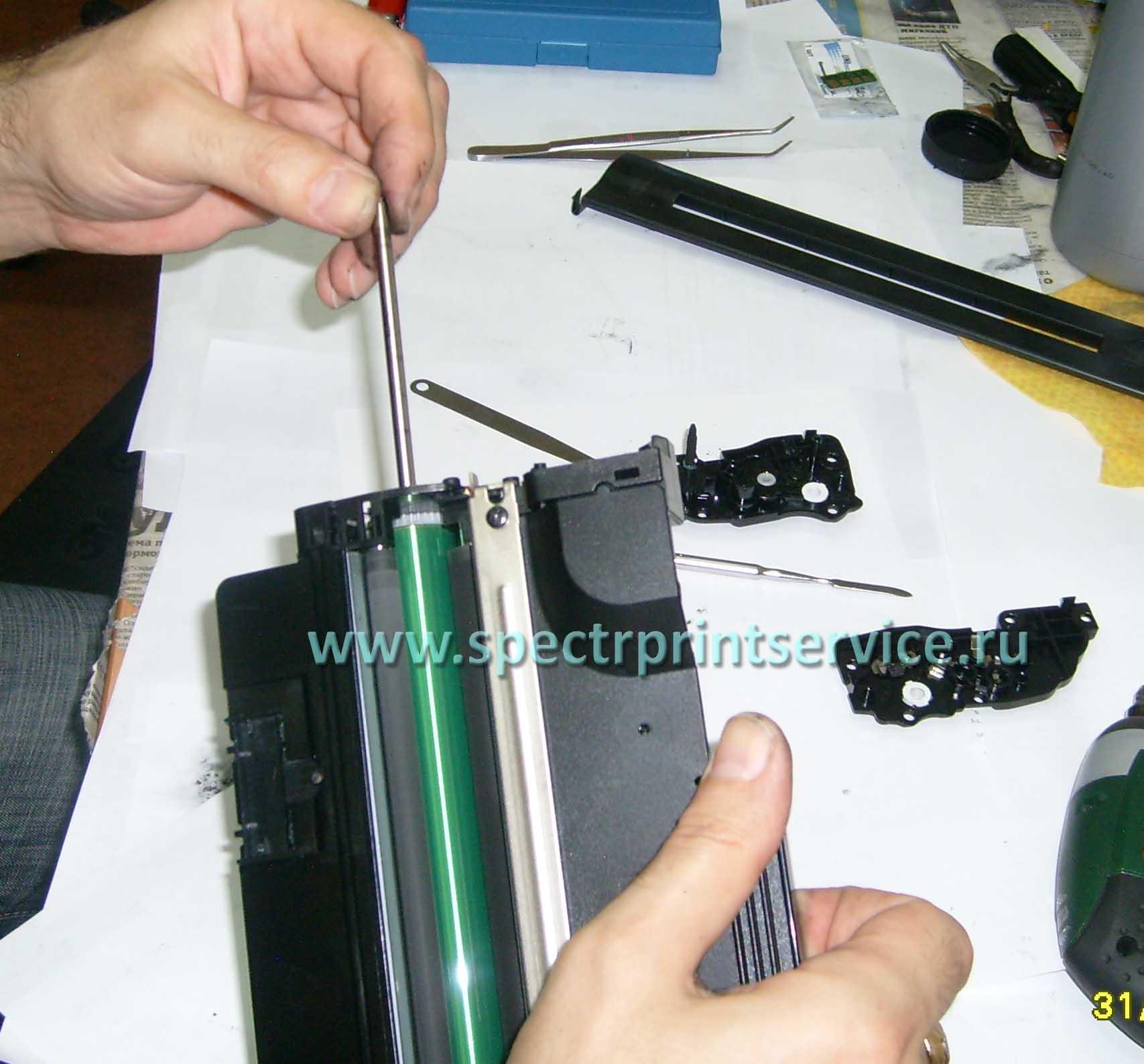 Инструкция по заправке картриджа samsung 4200