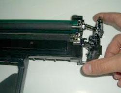 samsung ml-1640 замена картриджа инструкция