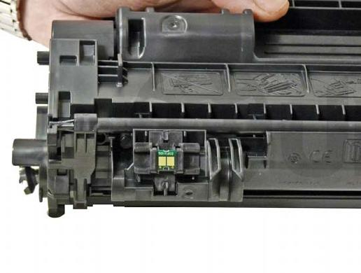 Инструкция по заправке картриджа HP LaserJet P2055dn 505x ПетроКомплектСервис