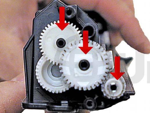 Промывка головки принтера hp