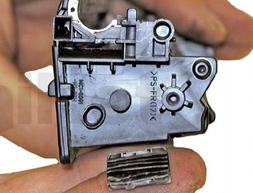 Инструкция по заправке картриджа HP 35A - CB435A