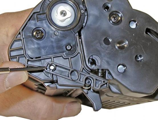Инструкция по заправке картриджа Hp LaserJet 1200 - Как заправить картридж Hp LaserJet 1200 №2