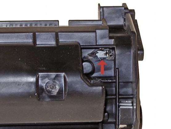 Инструкция по заправке картриджа Hp LaserJet 1200 - Как заправить картридж Hp LaserJet 1200 №3