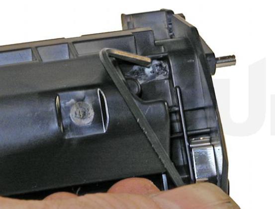 Инструкция по заправке картриджа Hp LaserJet 1200 - Как заправить картридж Hp LaserJet 1200 №4