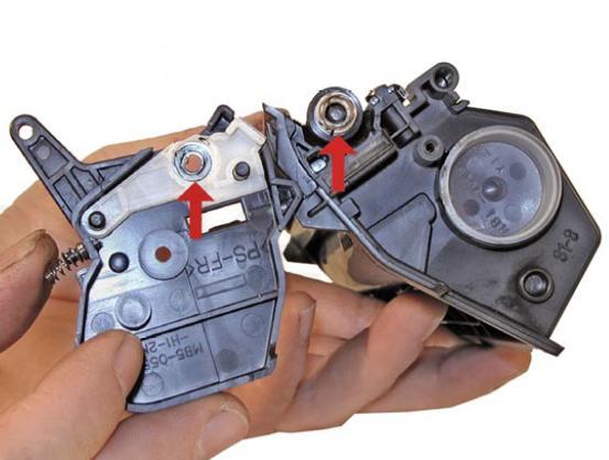 Инструкция по заправке картриджа Hp LaserJet 1200 - Как заправить картридж Hp LaserJet 1200 №14
