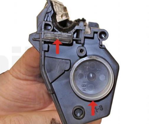 Инструкция по заправке картриджа Hp LaserJet 1200 - Как заправить картридж Hp LaserJet 1200 №22
